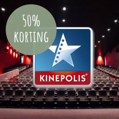 Entree 50% bioscoop Groningen Kinepolis