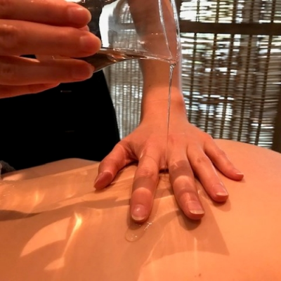 Warme oliebehandeling (25 min.)